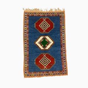 Vintage Moroccan Tribal Rug, 1970s