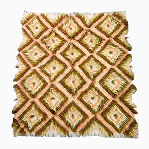 Türkischer Vintage Tulle Teppich, 1970er