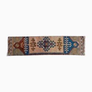Alfombra Oushak turca vintage pequeña, años 70