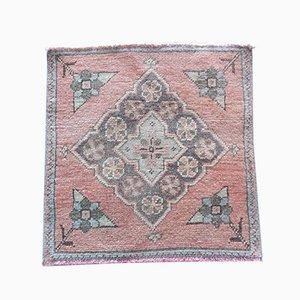 Kleiner türkischer Vintage Tribal Teppich von Vintage Pillow Store Contemporary, 1970er