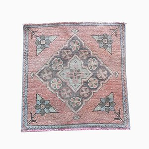 Small Vintage Turkish Tribal Rug from Vintage Pillow Store Contemporary, 1970s