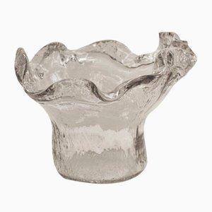 Vase aus Pressglas von Tauno Wirkkala, 1950er