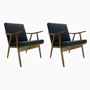 Armchairs from TON, 1960s, Set of 2