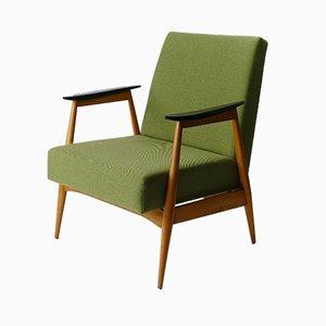 Grüner Vintage Sessel, 1960er