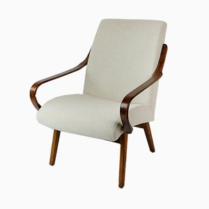 Vintage Beige Lounge Chair, 1960s