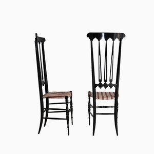 Chaises d'Appoint Mid-Century par Gio Ponti, Italie, 1950s, Set de 2