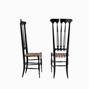 Mid-Century Italian Side Chairs by Gio Ponti, 1950s, Set of 2