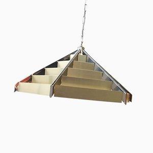Lámpara de techo de Gaetano Sciolari para Sciolari, años 70