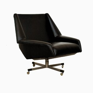 Leatherette Swivel Chair by Munari Giuseppe for Munari, 1960s