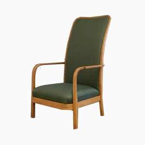 Sessel mit Gestell aus gebogenem Holz von Thonet, 1930er