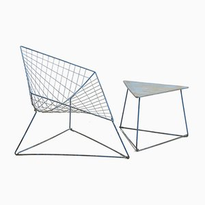 Modell Oti Sessel & Couchtisch Set von Niels Gammelgaard für Ikea, 1980er