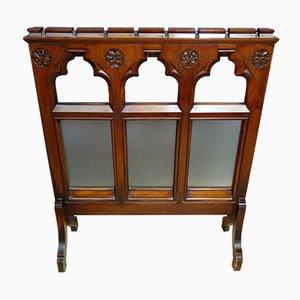 Antiker viktorianischer Raumteiler