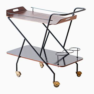 Mid-Century Italian Bar Cart, 1950s
