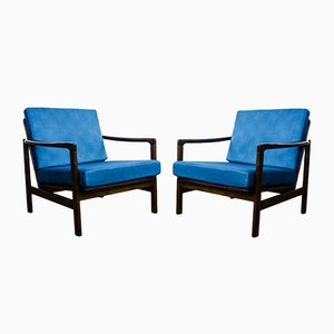 Model B-7752 Armchairs by Zenon Bączyk, 1960s, Set of 2