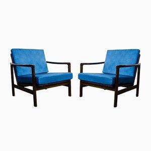 Modell B7522 Sessel von Zenon Bączyk, 1960er, 2er Set