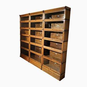 Antique Oak Cabinet from Globe Wernicke