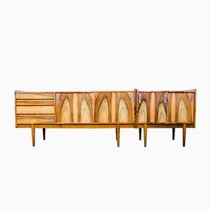 Enfilades de Bytomskie Furniture Factories, années 60, Set de 2