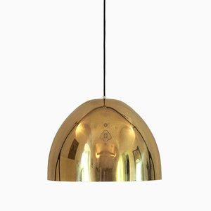 Lampada da soffitto vintage in ottone, anni '60
