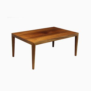 Mid-Century Rosewood Coffee Table by Severen Hansen for Haslev, 1960s