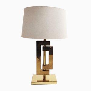 Lámpara de mesa vintage de Willy Rizzo, años 70