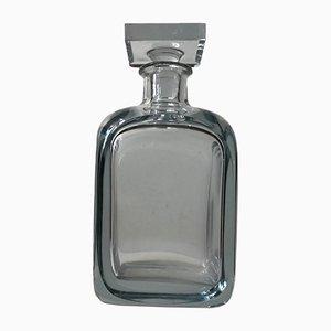 Decantador escandinavo de cristal de Strömbergshyttan, años 50