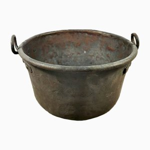 Antique Italian Copper Bucket, 1800s