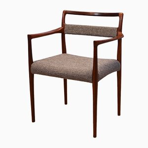 Danish Rosewood Dining Chair by Helge Vestergaard Jensen, 1960s