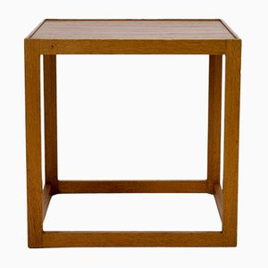 Danish Cube Side Table by Kurt Østervig for Børge Bak, 1950s