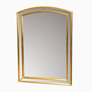 Belgian Gold Faceted Mirror from Deknudt, 1970s