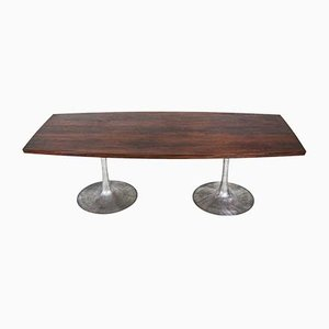 Rosewood Dining Table by Maurice Burke for Arkana, 1960s