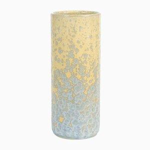 Mid-Century Vase mit Kristallglasur von Ernst Stauber