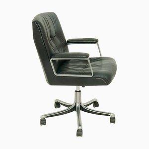 Chaise de Bureau Modèle P128 Pivotante par Osvaldo Borsani pour Tecno, années 70