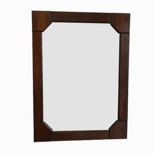 Espejo de palisandro, años 60