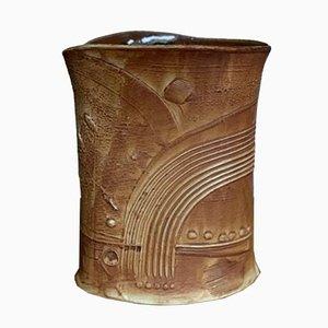 Vaso in ceramica di Bertil Vallien per Rörstrand, anni '70