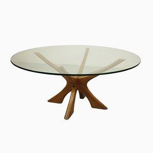 Tavolino da caffè JAX in teak di Illum Wikkelsø per Niels Eilersen, anni '60
