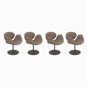 Small Tulip Chairs by Pierre Paulin for Artifort, 1980s, Set of 4
