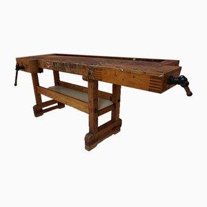 Grande Table de Travail Vintage, années 50