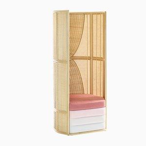 Lisetta Lounge Chair by Elena Salmistraro for Bottega Intreccio