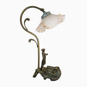 Lampe de Bureau Art Nouveau, années 20