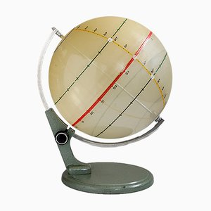 Opaque Instructional Globe, 1950s