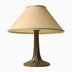 Vintage French Bronze Table Lamp, 1950s