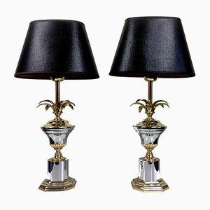 Lampes de Bureau Ananas Style Régence, années 70, Set de 2