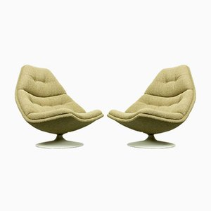 Model F511 Lounge Chairs by Geoffrey Harcourt for Artifort, 1960s, Set of 2