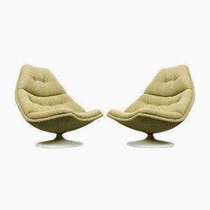 Modell F511 Sessel von Geoffrey Harcourt für Artifort, 1960er, 2er Set
