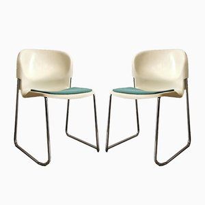 Model SM400k Dining Chairs by Gerd Lange for Drabert, 1980s, Set of 2
