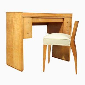 Toeletta e sedia, Francia, anni '20, set di 2