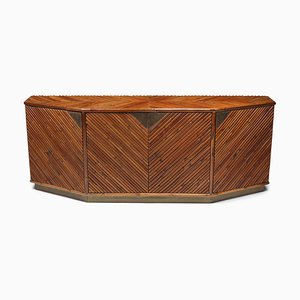 Bamboo Credenza from Vivai del Sud, 1970s