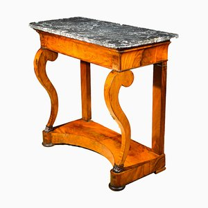 Antique Charles X Console Table, 1820s