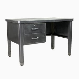 Belgian Steel Desk, 1950s