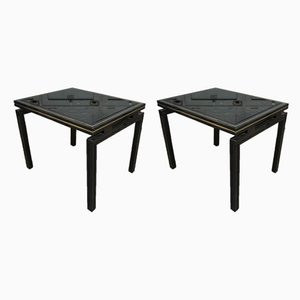 French Coffee Tables by Pierre Vandel, 1980s, Set of 2